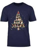 Basset Hound Noel Xmas Tree Cool Christmas Dog Love Gift Tee T Shirt