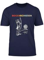 Bogenschiessen T Shirt Herren Damen Kinder