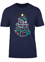 Er Christmas Crew Emergency Room Nurse Techs Secretary Pct T Shirt