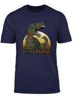 Un Speak Able T Shirt Vintage T Rex For Men Women Kids