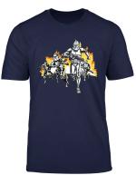 Star Wars Clone Troopers Running T Shirt