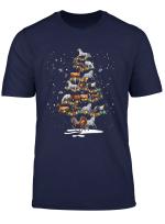 Horses Christmas Tree Shirt Horse Lover X Mas Gift T Shirt