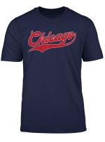 Chicago Baseball Vintage Baseball Gift T Shirt