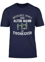 Herren Tischfussball Tischkicker Wuzzler Vintage T Shirt