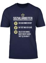 Sozialarbeiter T Shirt Streetworker Beruf Padagoge Shirt