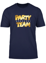 Apres Ski Party Team T Shirt