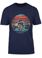 Vintage Jeep Shirt Retro 70S Off Road Boys Girls Men Women T Shirt