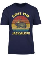 Vintage Retro Save The Jackalope T Shirt