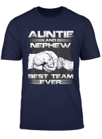 Auntie And Nephew Best Team Ever Funny Gift T Shirt