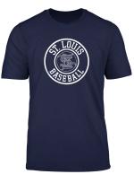 Vintage St Louis Baseball Missouri Cardinal Badge Gift T Shirt