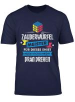 Zauberwurfel Ratsel Motiv Fur Den Ratselwurfel Meister T Shirt