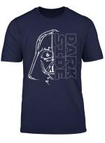 Star Wars Darth Vader Dark Side Two Face Stich T Shirt