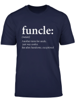 Mens Funcle Shirt Cool Funny Uncle T Shirt