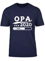 Herren Opa 2020 Shirt Opa Ladt Ich Werde Opa Tshirt Geschenk
