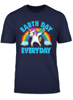 Earth Day Everyday Dabbing Unicorn Environmentalist Gift T Shirt