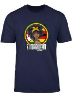 Zimbabwean Girl Zimbabwe Flag Gift T Shirt