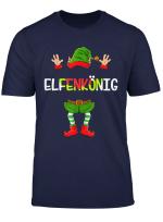 Lustiges Elfenkonig Elfen Weihnachtselfen Weihnachten X Mas T Shirt