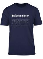 Bademeister T Shirt Lustiges Geschenk Kollege