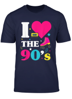 90Er Jahre Outfit I Love The 90S Retro Oldschool Party Shirt