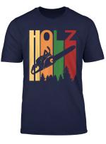 Herren Herren Holzfaller T Shirt Waldarbeiter Geschenk Forstwirt Fu