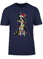 Border Collie Christmas Santa T Shirt Funny Dog Lover Gift T Shirt