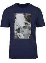Jfk Smoking With Shades John F Kennedy President T Shirt