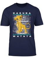 Disney Lion King Hakuna Matata Simba Artsy Background T Shirt