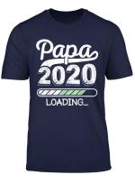 Herren Herren Vater Loading 2020 Shirt Werdender Papa Geschenk