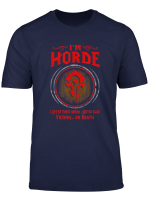 Wow I M Horde Tshirt Men Women