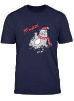 Katze Katzchen Fat Cat Liebhaber Kitty Cat Owner Weihnachten T Shirt