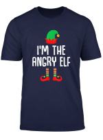 I M The Angry Elf Matching Family Group Christmas T Shirt