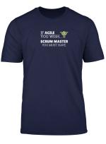 Lustiges Scrum Master T Shirt Fur Agile Teams