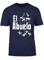 Mens El Abuelo Spanish Hispanic Grandfather T Shirt