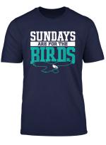 Sundays Are For The Birds Eagle T Shirt