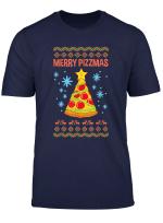 Frohliche Pizzen Lustige Weihnachten Pizza Geschenk T Shirt