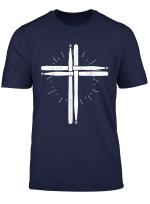 Drum Stick Cross T Shirt Drummer Shirt