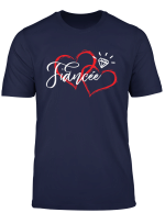 Fiancee Diamond Ring Red Love Hearts Engagement Party Gift T Shirt