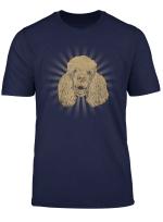 Poodle Owner Gift Dog Lover Retro Poodle T Shirt