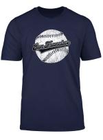 San Francisco Baseball Vintage Sf Pride Giant Gift T Shirt
