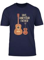 Uke I Am Your Father Funny Ukulele Acoustic Guitar T Shirt