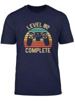 Level 2 Complete Celebrate 2Nd Wedding Vintage Gamer T Shirt