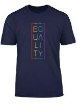 Equality Lgbt Gay Pride Rainbow Parade T Shirt Men Women