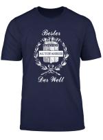 Bester Autofahrer Der Welt Tshirt Weltbester Fahrer T Shirt