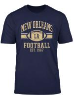 New Orleans Football Vintage Louisiana Nola Saint Retro T Shirt