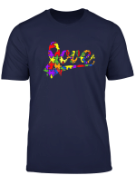 Love Autism Awareness Puzzle Shirt For Women Men And Kids