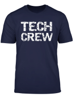 Matching Theatre Technical Crew Apparel For Men Tech Crew T Shirt