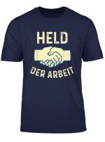 Held Der Arbeit T Shirt Ddr Ostalgie Retro Kommunist