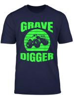 Monster Truck American Flag Racing Usa Vintage T Shirt