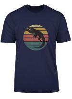 Retro Bearded Dragon Sunset Lizard Reptile T Shirt