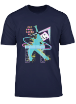 Dancing Dj With Goofy Marshmallow Face For Clubbing Dejavu T Shirt